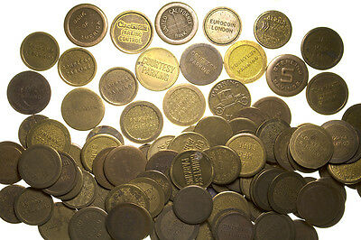 Parking Token Collection (99) ~ Bank of America, Douglas Aircraft, & more!