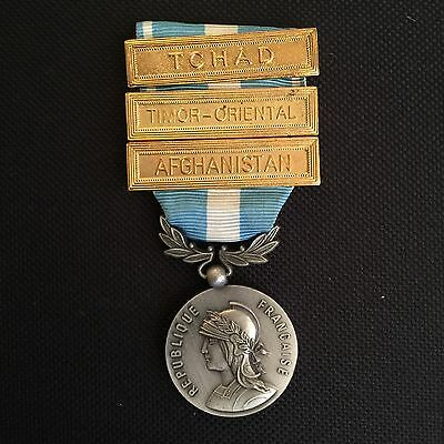 French Foreign Legion Colonial Outre-mer Medal W/ Clasps