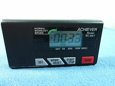 Nordic Track Achiever Ski Machine Genuine Parts~Achiever Model BC-887 Monitor