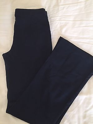 M&S Navy 'Stretchy' Sports Bottoms Age 12 Years