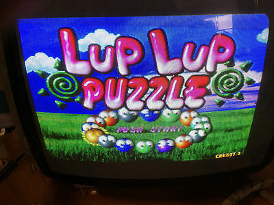 "Pcb Arcade Board  "" Lup Lup Puzzle "" Jamma"