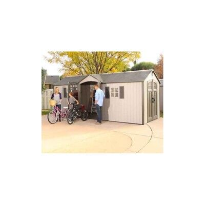 Lifetime Products Hdpe Garden Shed 20X8
