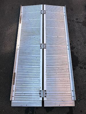 Portable Ramp for Wheelchairs or Van loading/Unloading