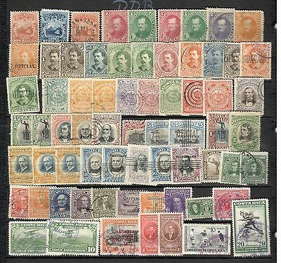 Costa Rica  classic lot collection