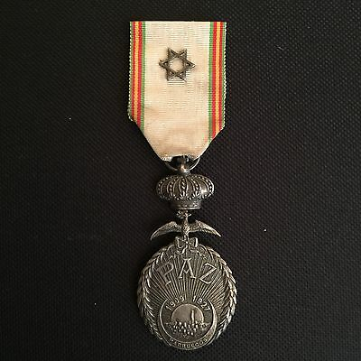 Spanish Foreign Legion Silver Morocco Paz Peace Medal 1908-1927
