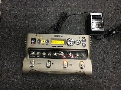 Line 6 Jm4 Looper Effects Pedal, Nice Condition, Works Great
