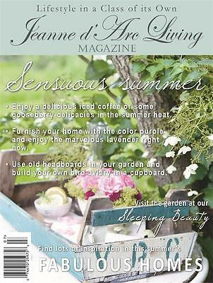 ON THE WAY Jeanne d'Arc Living MAGAZINE JULY 2017 ISSUE 7 VINTAGE/Brocante/STYLE