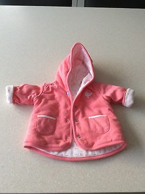 Baby Girl Jacket Marks And Spencer's Age 0-3 Months