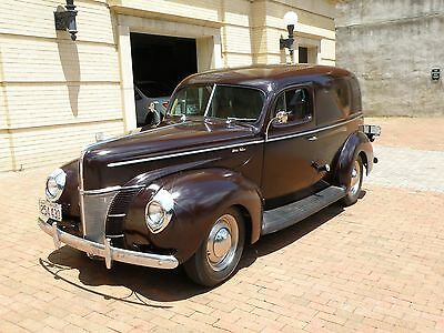 1940 Ford Model 78 Deluxe 1940 Ford Deluxe Sedan Delivery