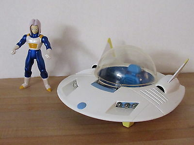 Dragon Ball Z Irwin Teen Trunks Hover Car Loose 90% Complete Works! dbz 2002