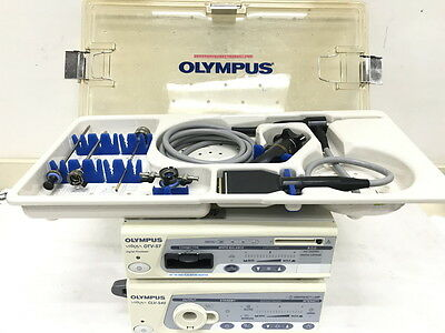 Olympus Arthroscopy System with OTV-S7H-VA and WA70005A Arthroscope 4mm/30deg