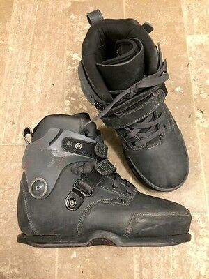 USD Richie Eisler Carbon Free Inline Aggressive Skates Us Size 8 Boot Only