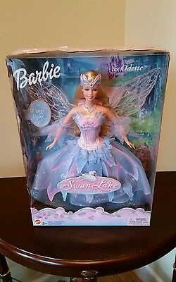 Barbie of Swan Lake as Odette with Light Up Wings NEW