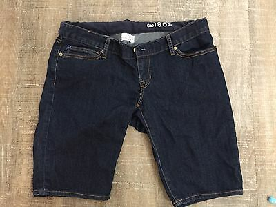 GAP Maternity Denim Shorts Size 4