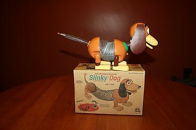 Collector's Edition Slinky Dog Pull Toy by James Industries GUCOriginal Box 2003