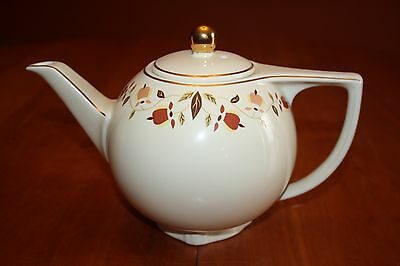 Autumn Leaf NALCC 2005 6 Cup Star Teapot and Lid Hall China Excellent