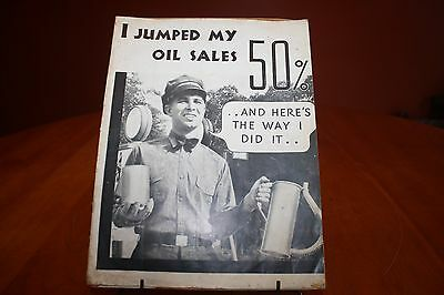 """Phillips Petroleum """"I Jumped My Oil Sales 50%"""" Brochure 1933 Fuller Smith & Ross"""