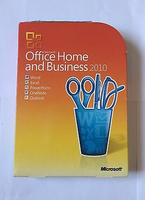 Microsoft Office 2010 Home and Business - Retail Boxed DVD and Key
