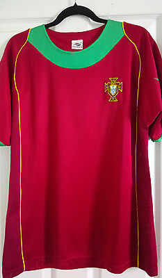 Portugal Football Shirt by Malance Adult