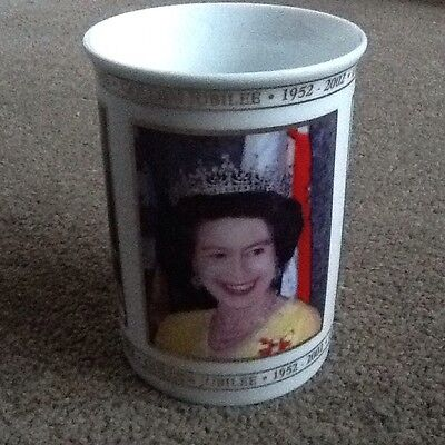 Queen's Golden Jubilee Commemorative Mug