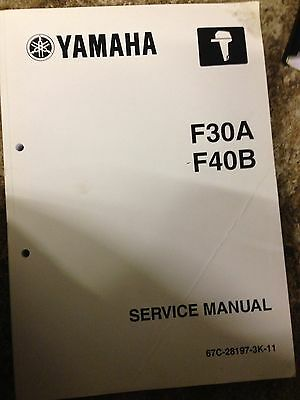 F30A F40B Yamaha Service Manual Guide