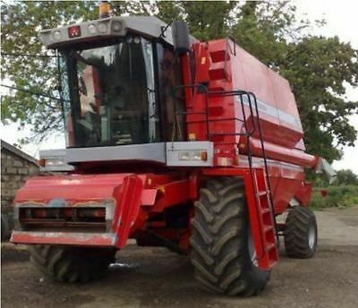 Massey Ferguson MF 40 Combine Parts Manual