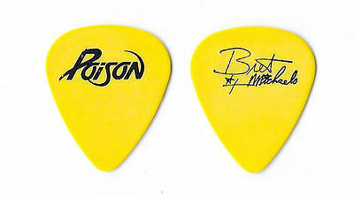 Poison version 1 tour guitar pick