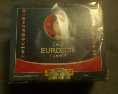 Panini France Euro 2016 Sealed Box Stickers 100 Packets New