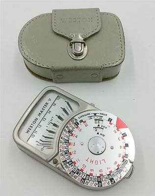 Weston Master Universal V Exposure Meter with Leather Case CGE29