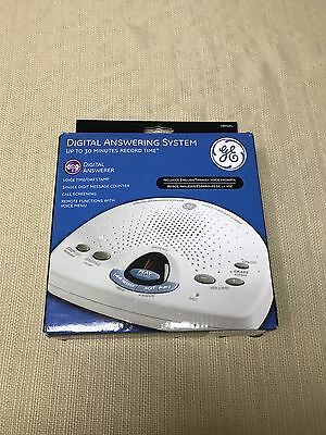 GE Digital Answering Machine Messaging System 29875GE1 Telephone Call Recorder