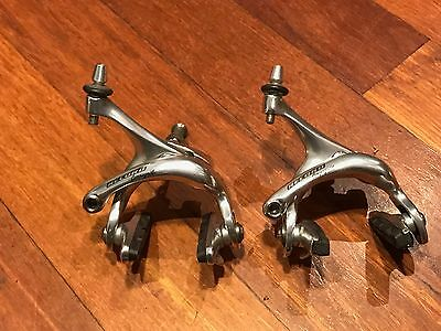 Campagnolo Record brake calipers (front & rear). 2005 model.