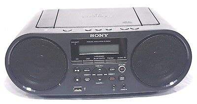 Sony ZS-RS60BT Bluetooth, NFC, CD player, FM/AM radio, audio in, USB - dent