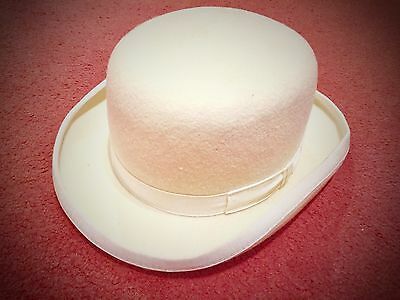 Christy's London Cream Bowler Hat 54cm