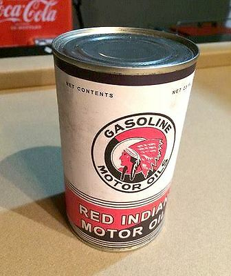 Red Indian Oil Can Replica