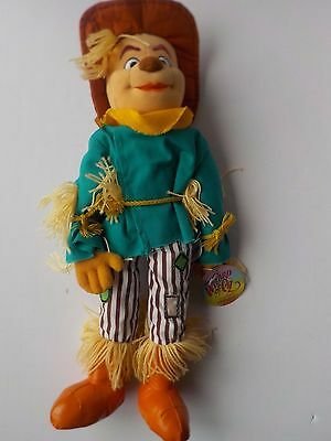 """The Wizard of Oz Scarecrow Stuffed Plush 16"""" New with Tags"""
