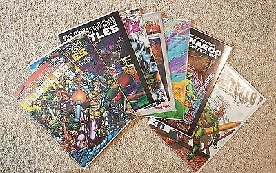 TMNT Comic Lot early issues VFNM