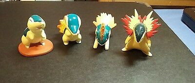 Cyndaquil Quilava Typhlosion Tomy Pokemon Figures