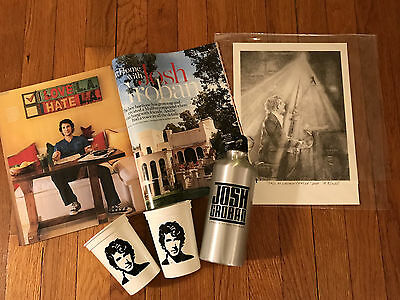 Josh Groban Lithograph, Water Bottle/Cups/Mag: 100% to Find YourLight Foundation