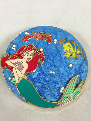 Disney Pin The Little Mermaid Soda Fountain LE 300 Hard To Find & Stunning! RARE