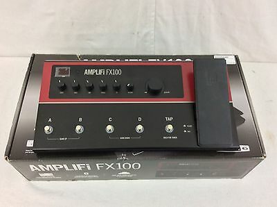 Line 6 Amplifi FX100 ios Multi-Effects pedal Bluetooth with power supply.