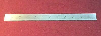 "Starrett No. C 604 Re 12"" Scale"