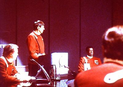 "RARE 1991~STAR TREK ""UNDISCOVERED COUNTRY""~SPOCK~35mm FILM CLIP/SLIDE~LOT 188"