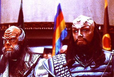 "RARE 1991~STAR TREK ""UNDISCOVERED COUNTRY""~KLINGONS~35mm FILM CLIP/SLIDE~LOT 173"