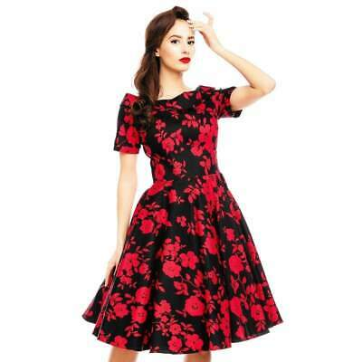 ac82984ceb4 DOLLY AND DOTTY Darlene 50's Dress Rockabilly Pin Up Retro Vintage Floral  Swing