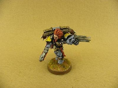 Warhammer 40K painted Space Wolves Lukas the Trickster B