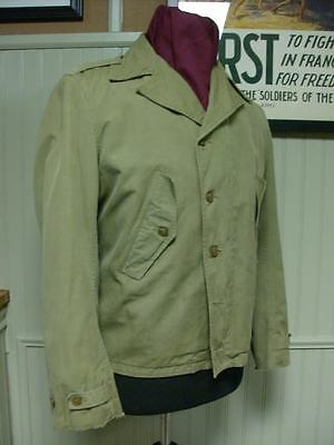 "World War II / WWII ""M38"" Field Jacket, or ""Parson's Jacket"""