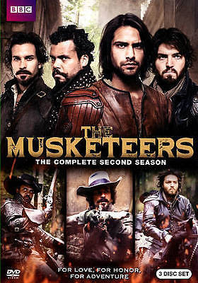 The Musketeers: Season 2 - Brand new sealed - BBC - 3 Disc Set - Region 1