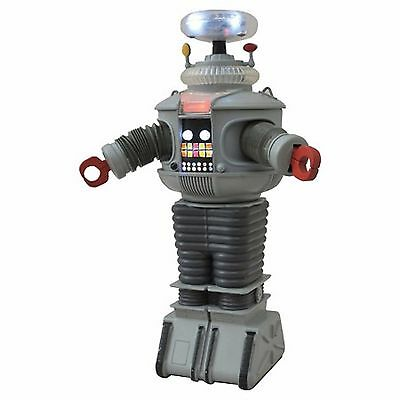 "Lost in Space Electronic B-9 Robot w/ Lights & Sounds 11"" Diamond Select MIB!"