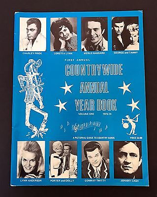 Countrywide Annual Year Book (1st Annual Vol 1 1973, Contry Music)