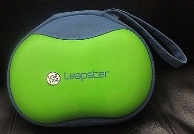 Leapfrog Leapster 2 Carrying case, green/blue, strap, Very gently used
